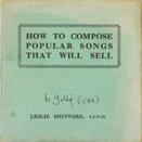 Bob Geldof :: How to compose popular songs that will sell